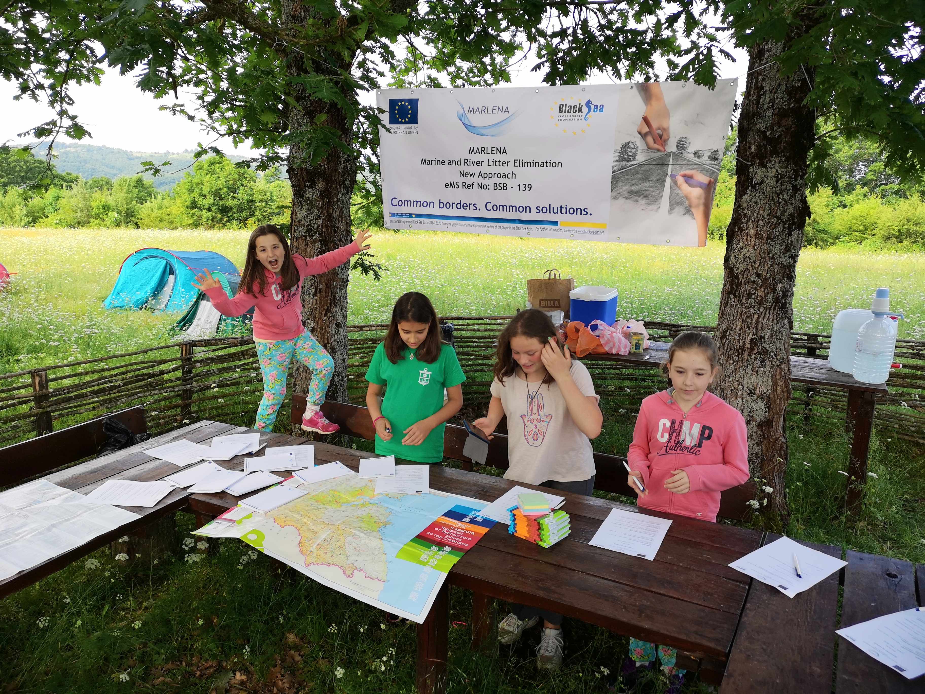 The Internatonal Childrens day was celebrated in Strandzha Nature Park, Bulgaria during an eco-camp under the MARLENA project