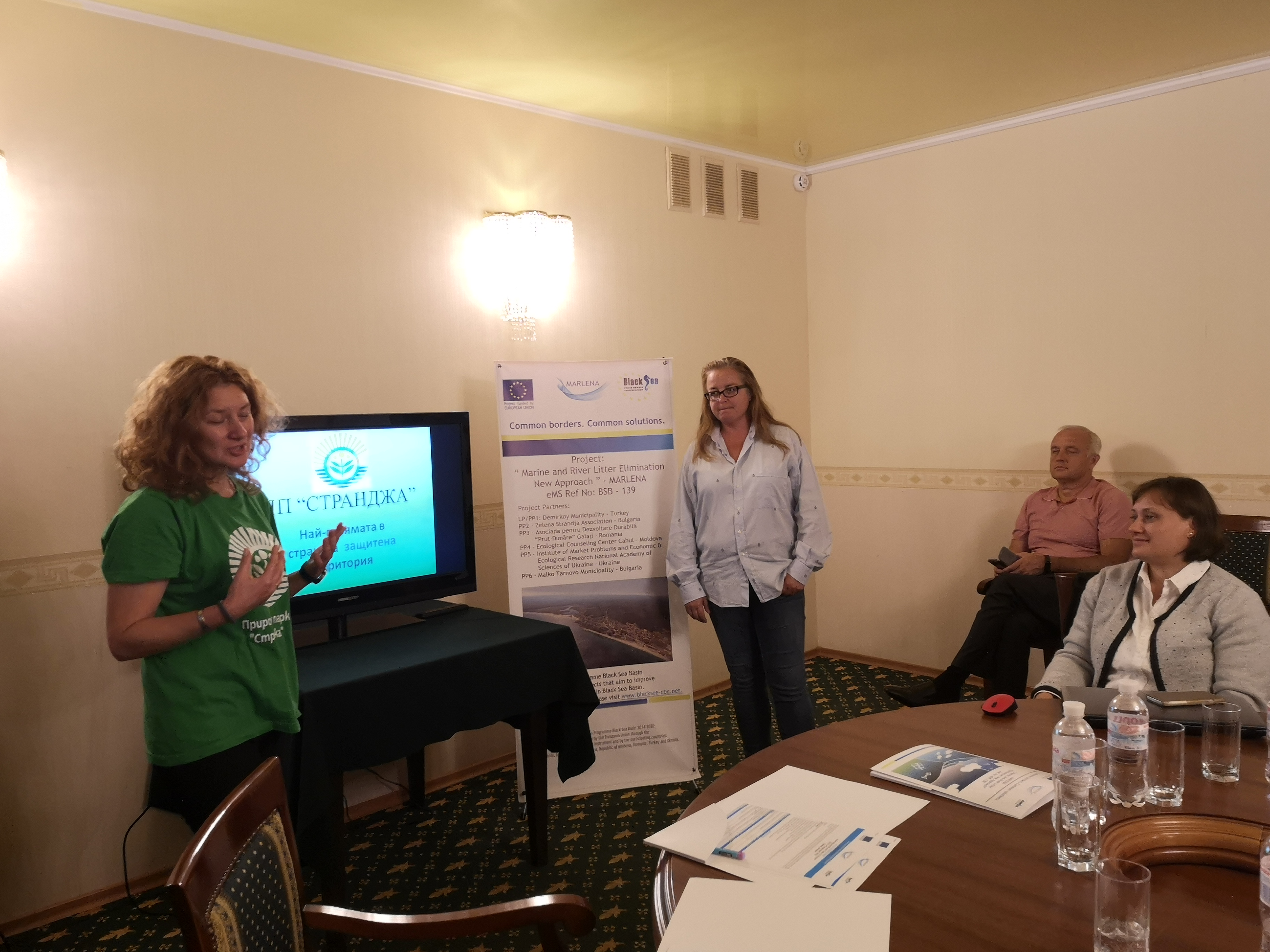 Round table in Odessa, Ukraine was held